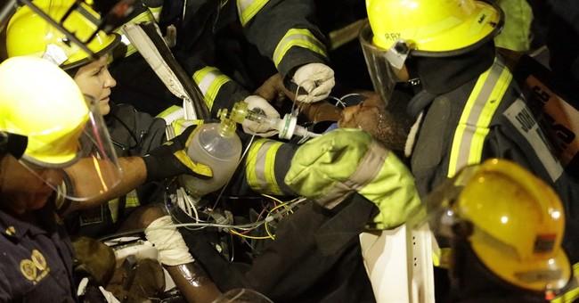 2 die in temporary bridge collapse in Johannesburg
