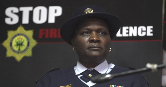 South African police commissioner is suspended