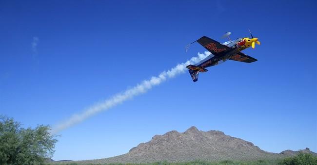 A discombobulating ride with an aerobatics pilot