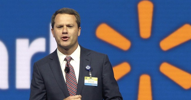 Wal-Mart stock plunges after profit warning