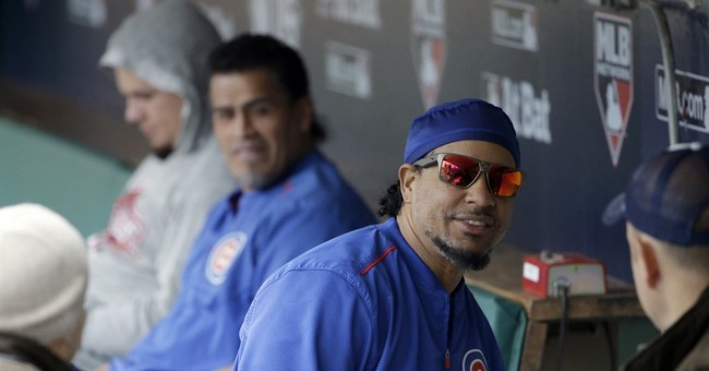 Cubs' not-so-secret weapon: Manny (sort of) being Manny