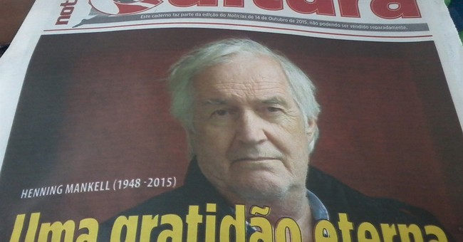 Mozambican theater commemorates Swedish author Mankell