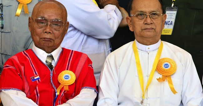 8 ethnic rebel armies sign cease-fire pact with Myanmar govt