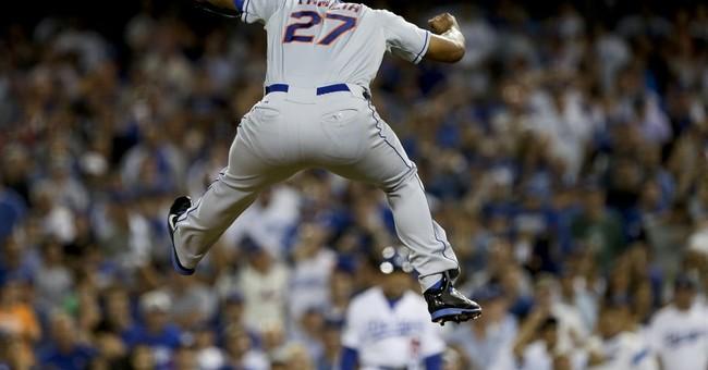 Murphy, Mets beat sleeping Dodgers 3-2 to reach NLCS vs Cubs