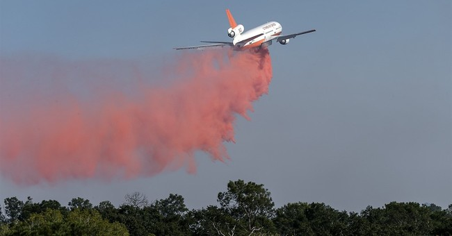 The Latest: Central Texas wildfire now 40 percent contained