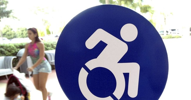 Peppier handicapped symbol gets support, but problems remain