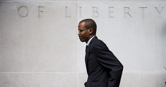 Congressman watches as son defends himself at US fraud trial