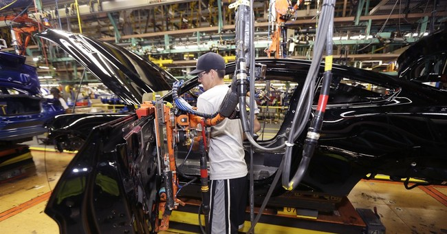 US factory output drops in latest sign of weak growth