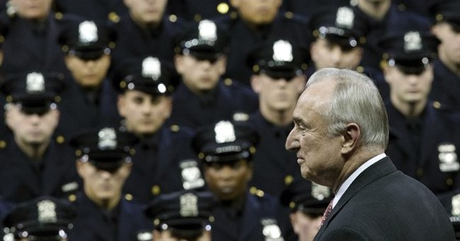 New York City police recruits to watch a play for training