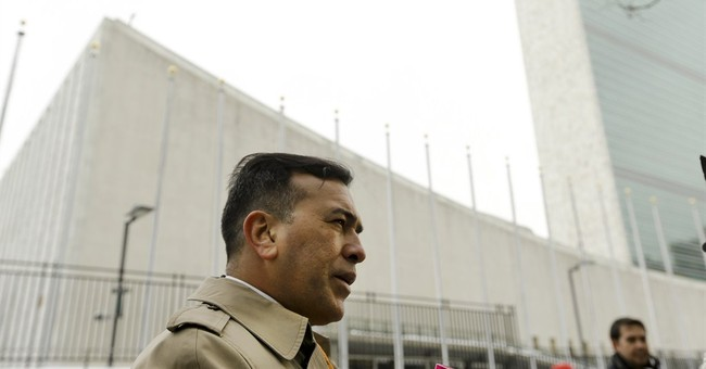 Venezuelan general appears in NY after 11 months on the run