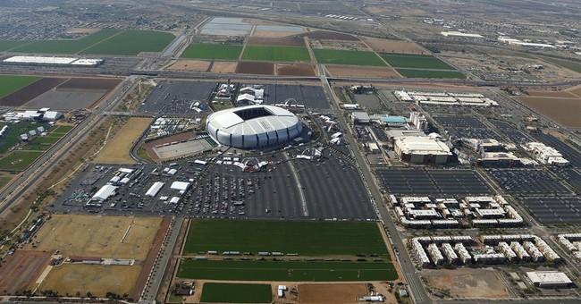 AP Explains: Super Bowl stadium full of unique features
