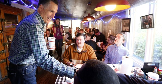 Wistful, humorous Romney looks back as he ponders '16