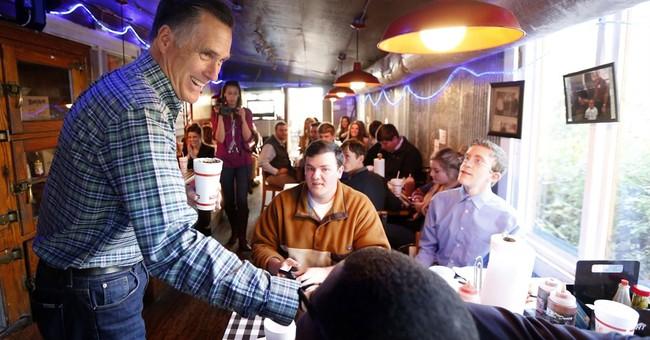 Wistful, humorous Romney looks back as he ponders '16