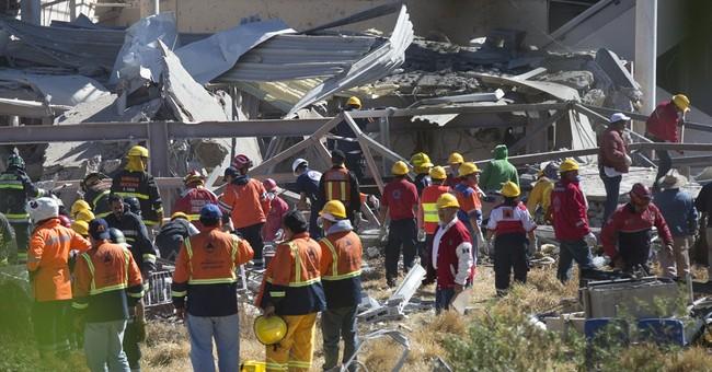 Gas blast wrecks Mexico children's hospital, killing 3