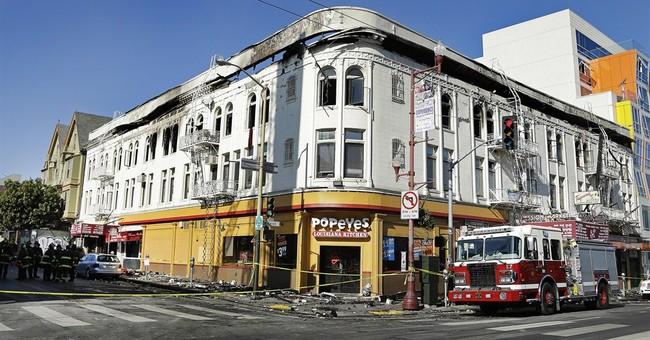 Deadly San Francisco blaze spurs look at fire alarms