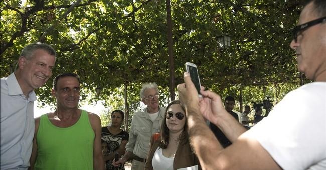 New York City mayor in Israel amid tensions