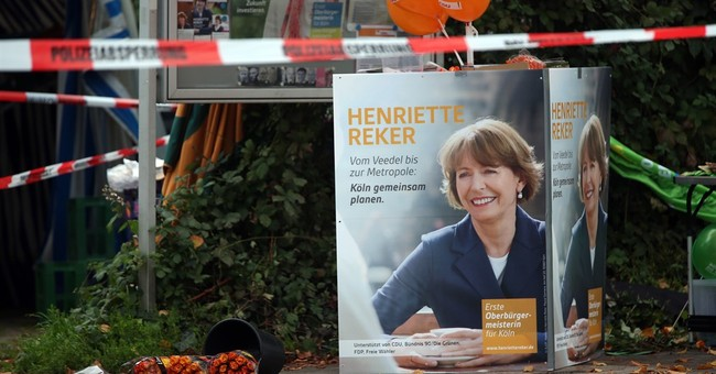 German candidate stabbed on eve of vote elected mayor