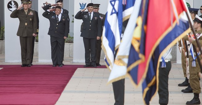 Dunford meets with Israeli leaders, pledges cooperation