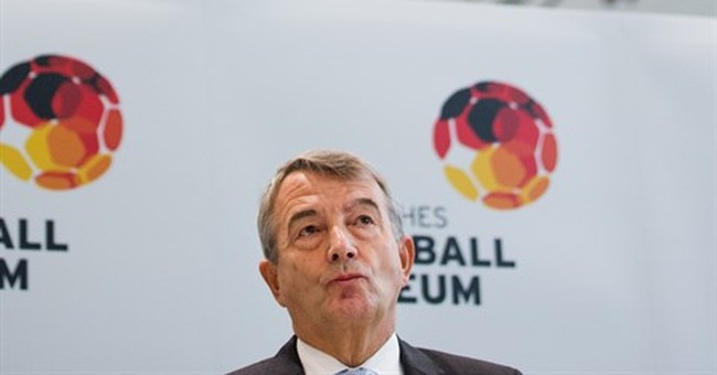 German soccer chief: 'There were no slush funds'