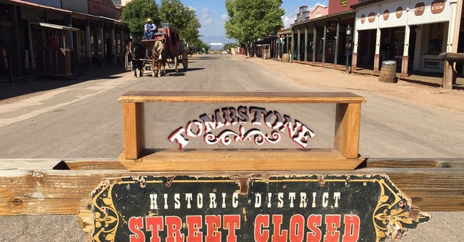 Real bullet hits actor during Old West gunfight reenactment