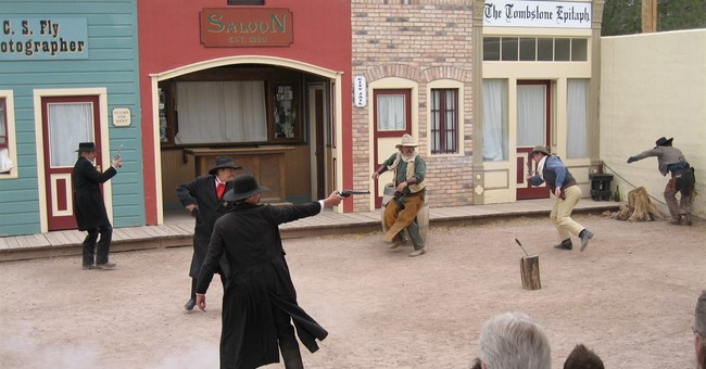 Tougher rules sought for gunfight skits after real shooting