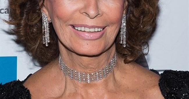 Sophia Loren: Retire? Never!