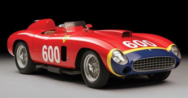 Historic 1956 Ferrari race car could bring $28M at auction