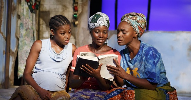 Review: Captives face ugly choices in harrowing 'Eclipsed'