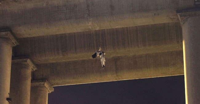 Body found hanging from bridge in Mexico City