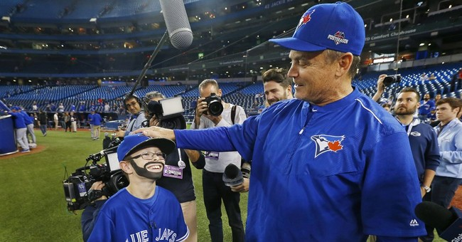 'Mini Bautista' a big hit with Blue Jays fans