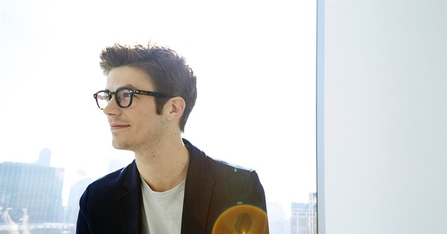 Grant Gustin gets boost of confidence in 'The Flash' suit