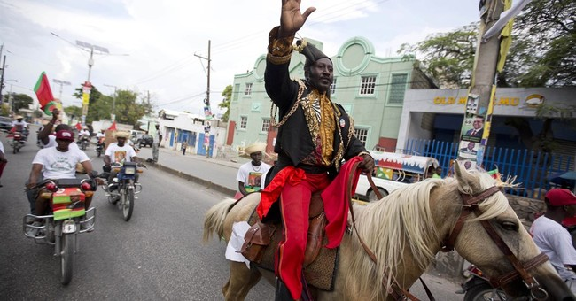 Haiti's small-scale election economy in full swing
