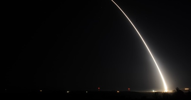 Air Force test-launches Minuteman missile from California