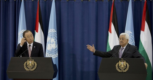 The Latest: UN chief 'pessimistic' on Israel-Palestinians
