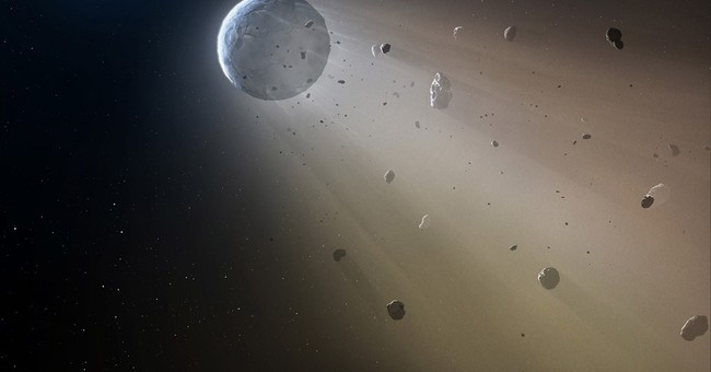Faraway object being destroyed by real-life 'Death Star'