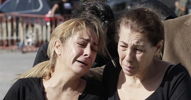 Bodies of 7 Lebanese drowned migrants return home