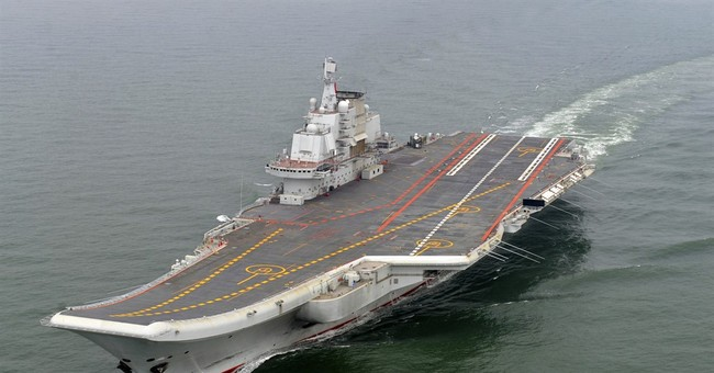 Senior US Navy officers visit Chinese aircraft carrier