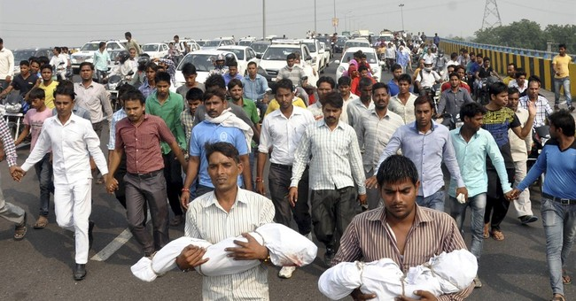 Baby, toddler die in alleged caste attack on Indian family