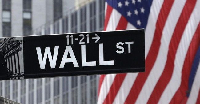 An early gain for stocks, driven by strong company earnings