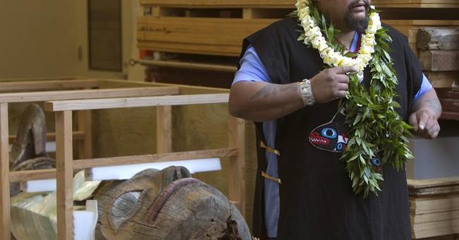 Alaska tribal members get back totem pole taken by actor