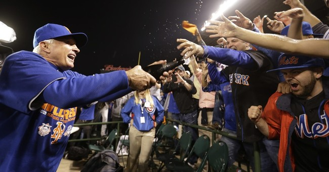 Murphy and the Mets sweep Cubs to reach World Series