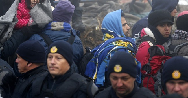 Migrants trade punches, 1 stabbed as tensions boil over