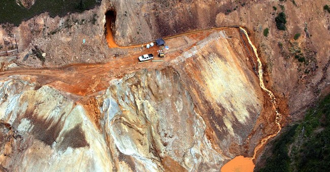 Probe finds EPA error caused mine spill it hoped to avoid