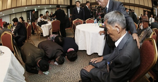 Brief reunion across Koreas: 'Let's meet again in afterlife'