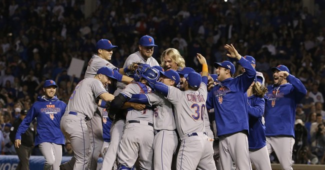 Murphy homers again, Mets sweep Cubs to reach World Series