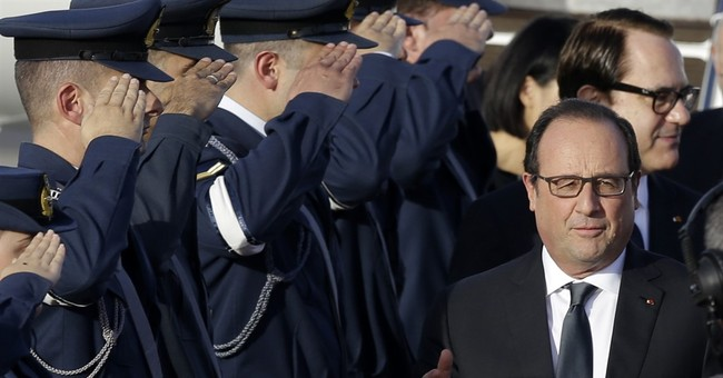 French president visits Athens as Greece seeks debt relief