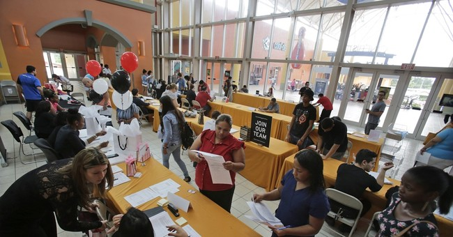 Applications for US weekly jobless benefits rose last week