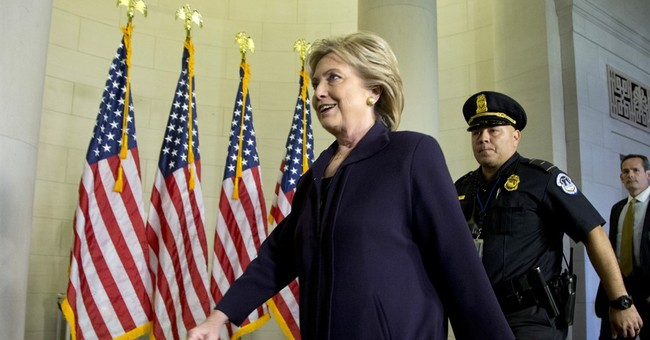 Analysis: Clinton enters Benghazi hearing on a high