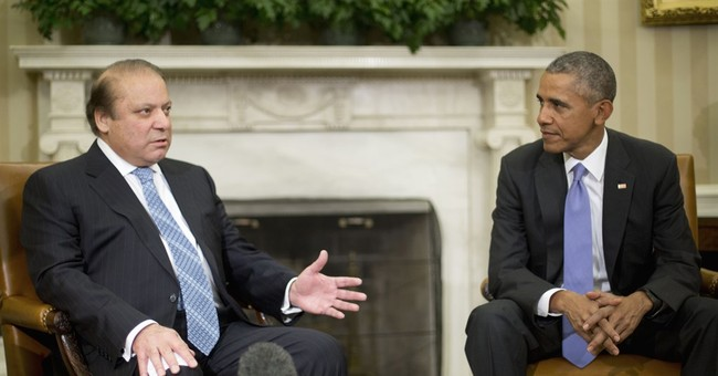 Obama meets with Pakistani prime minster