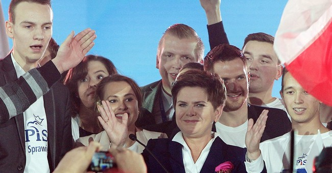 A quick look at 2 main parties in Poland's Oct. 25 election